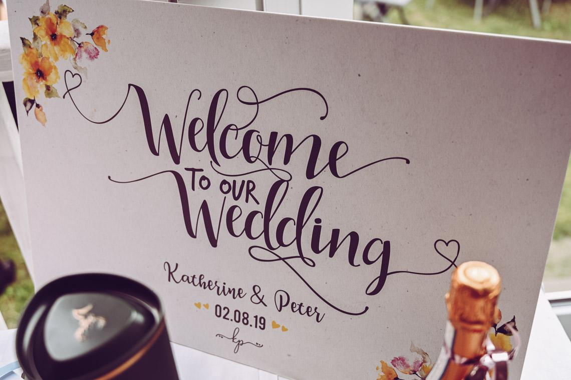 bröllopsskylt