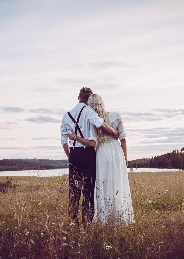 Bröllopsfotograf i Småland Sandra Hila lantliga bröllop