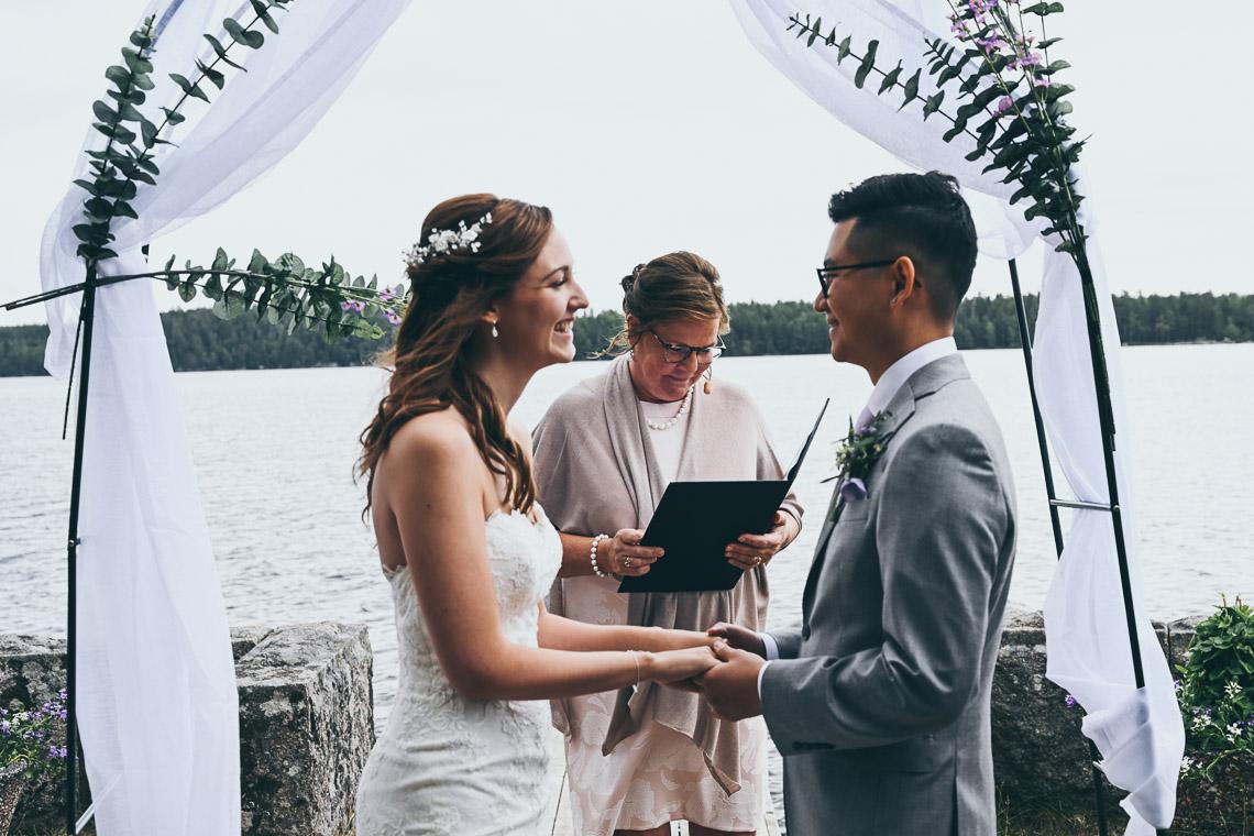 nygifta brud och brudgum