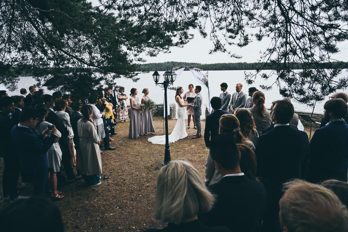 nygifta vid villa vik i småland bröllop