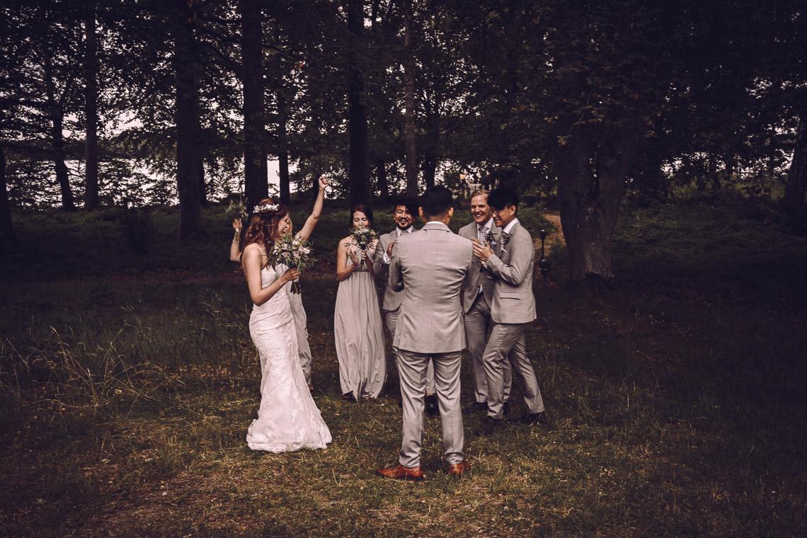 bröllopsfest mingel bröllop