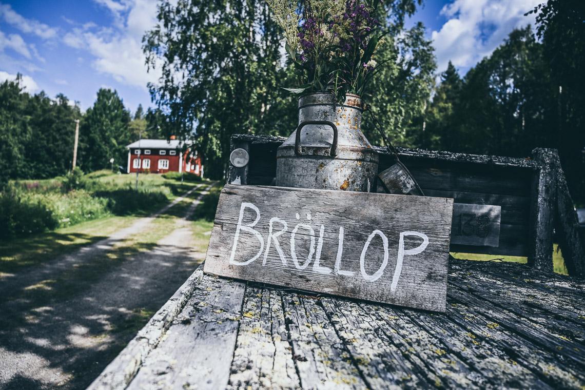 bröllopsskylt lantbröllop i norrland priser bröllopsfotgraf