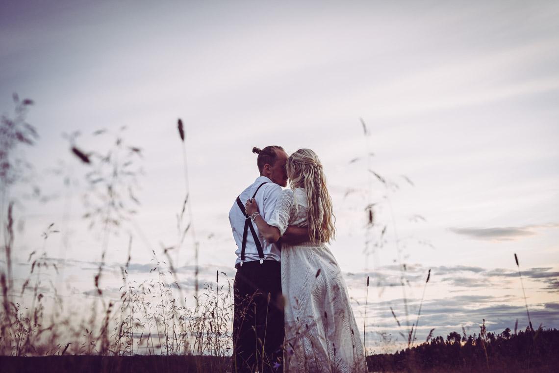 Johan och Jonna Jintons bröllop bröllopsporträtt Sandra Hila