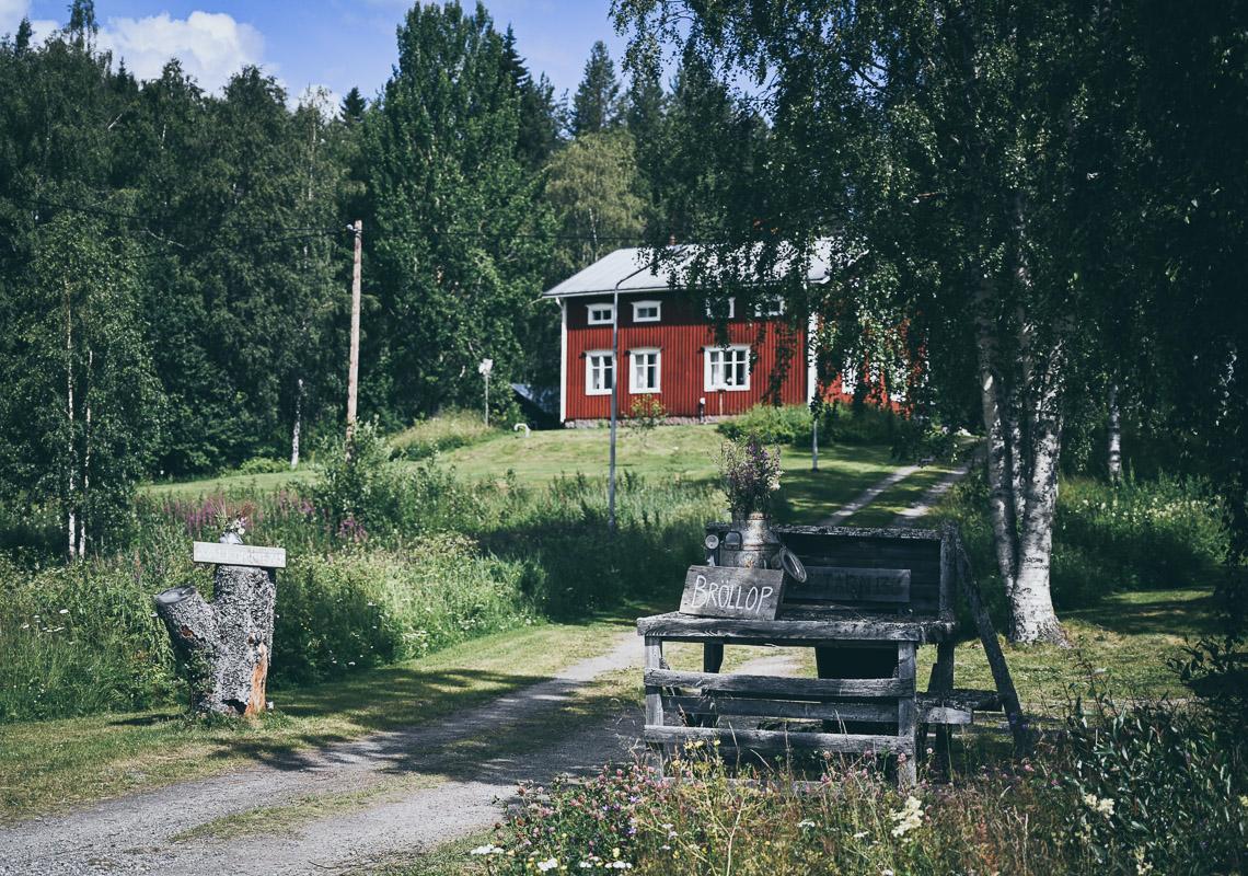 rött hus i norrland