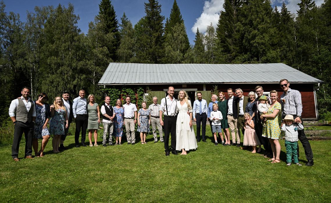jonna och johans familjer bröllop i norrland