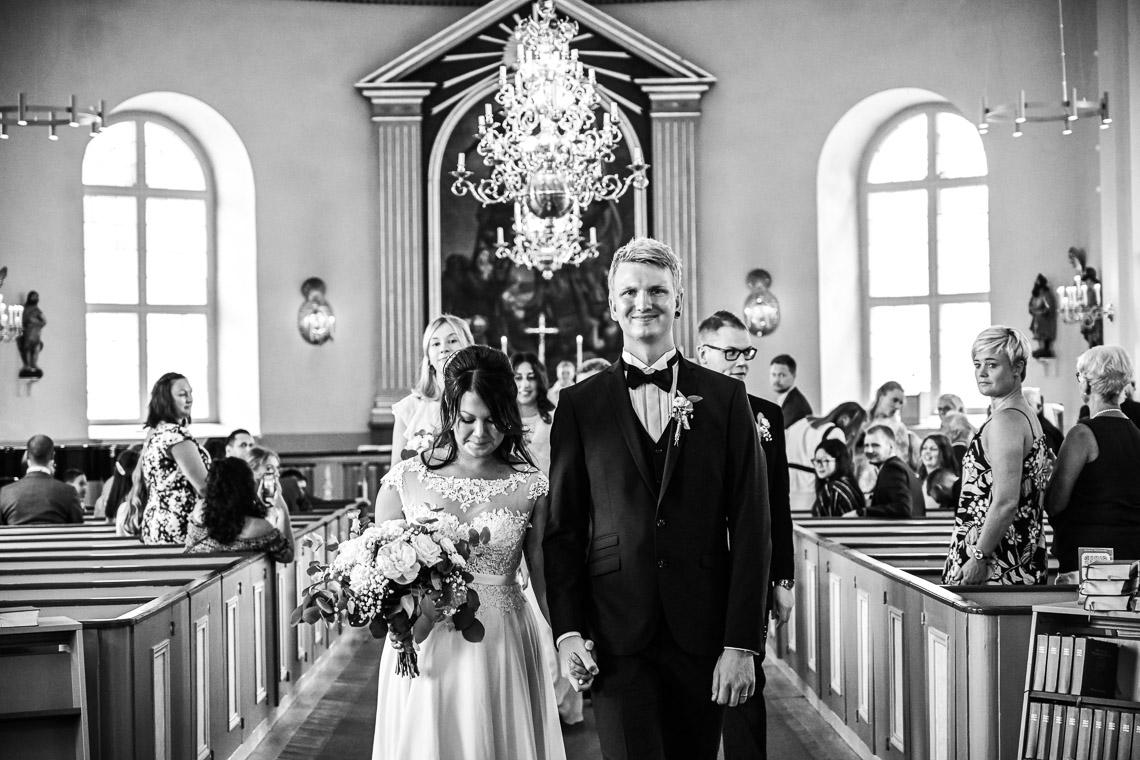 brudpar nygifta Mönsterås