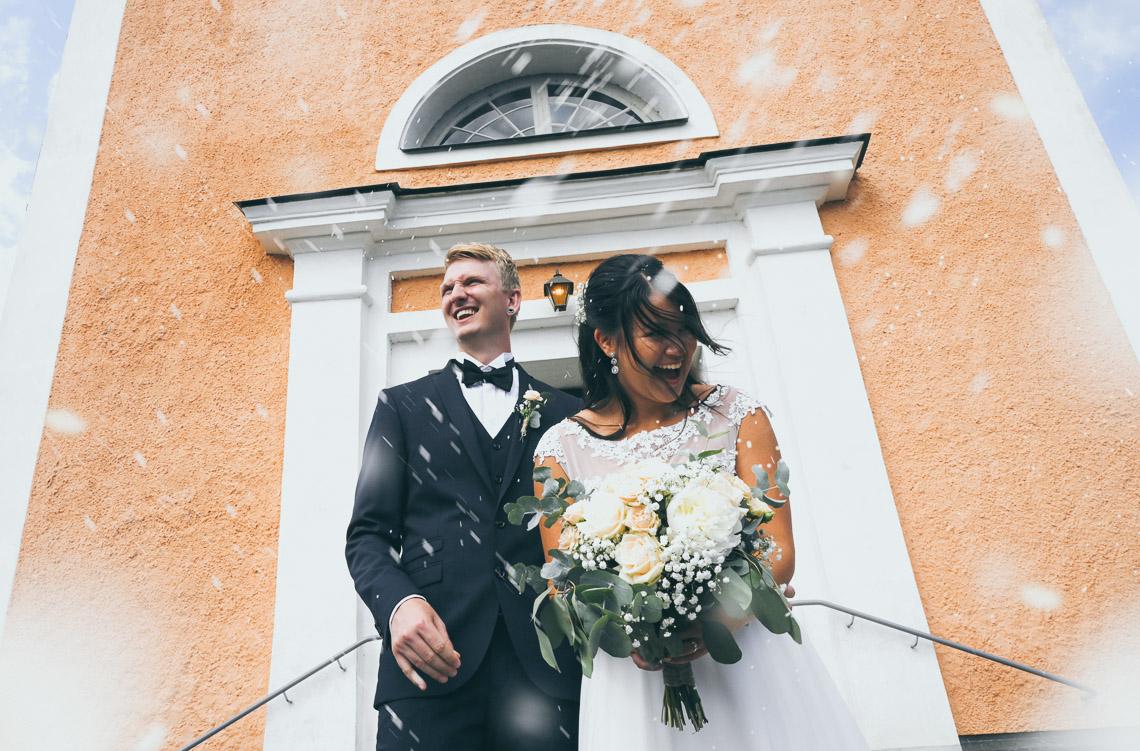 riskastning bröllop fotograf Sandra Hila