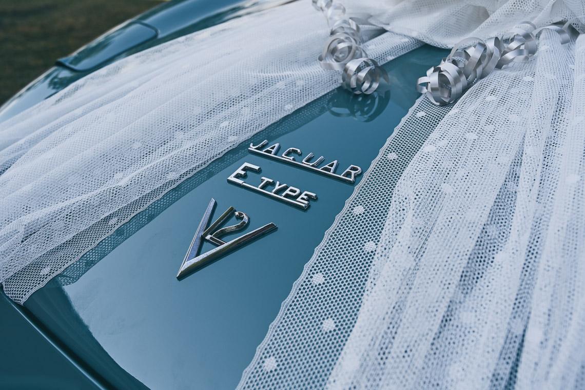 Jaguar E-type till bröllop