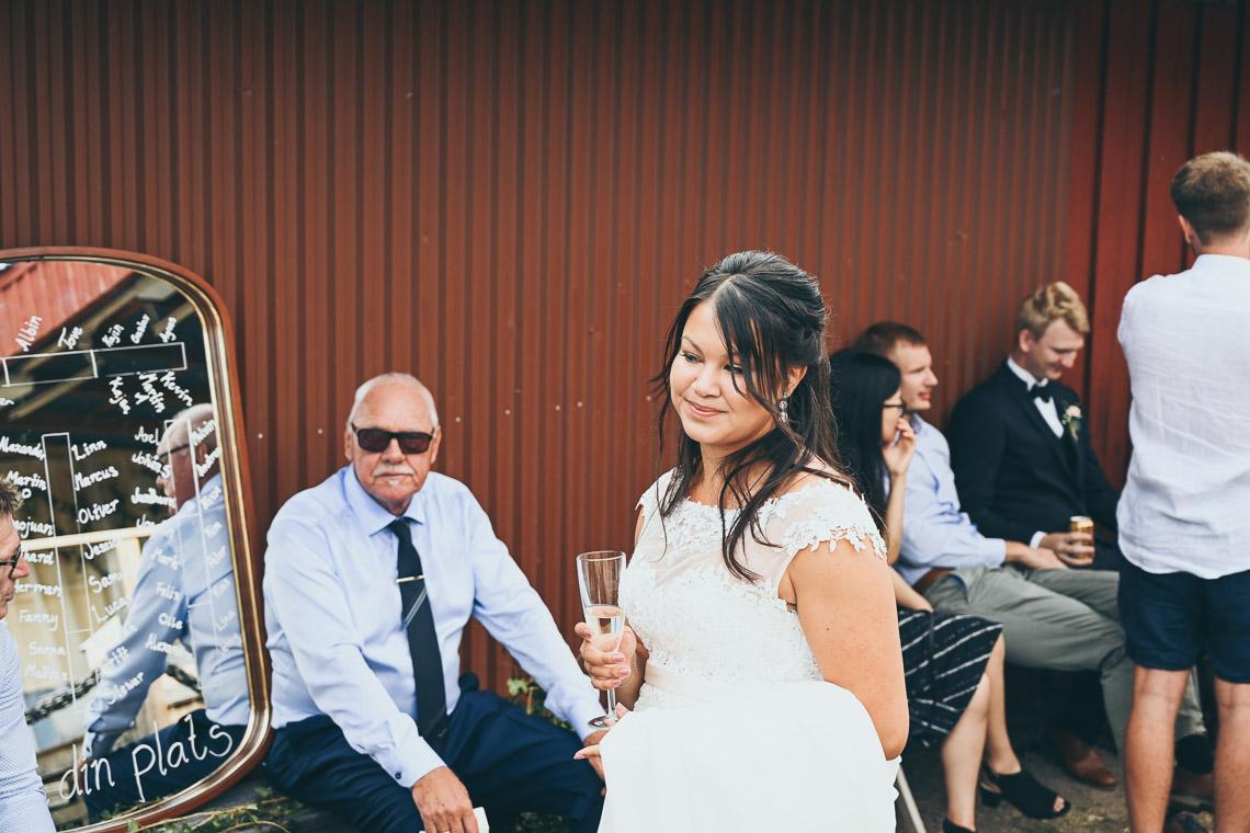 mingel champagne bröllop
