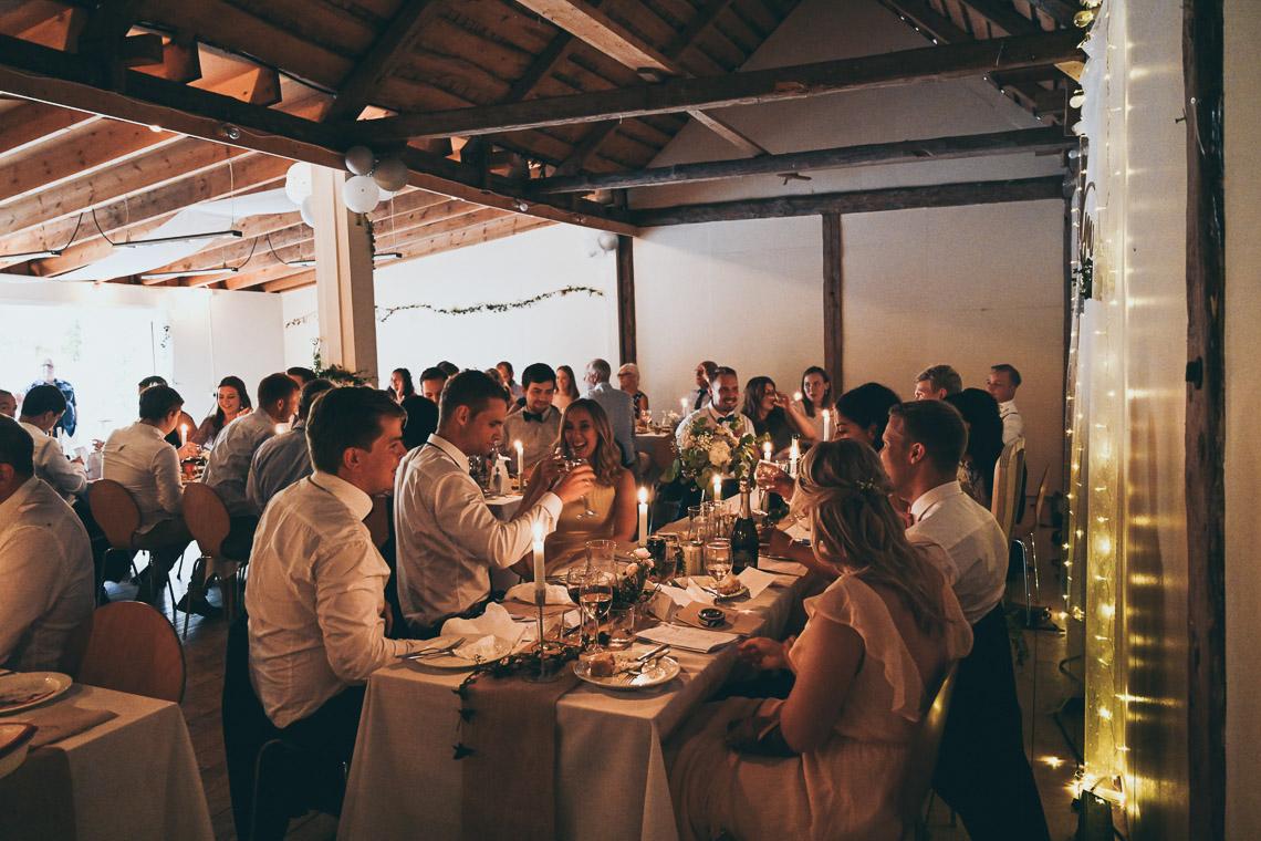 bröllopsfest på Oknö