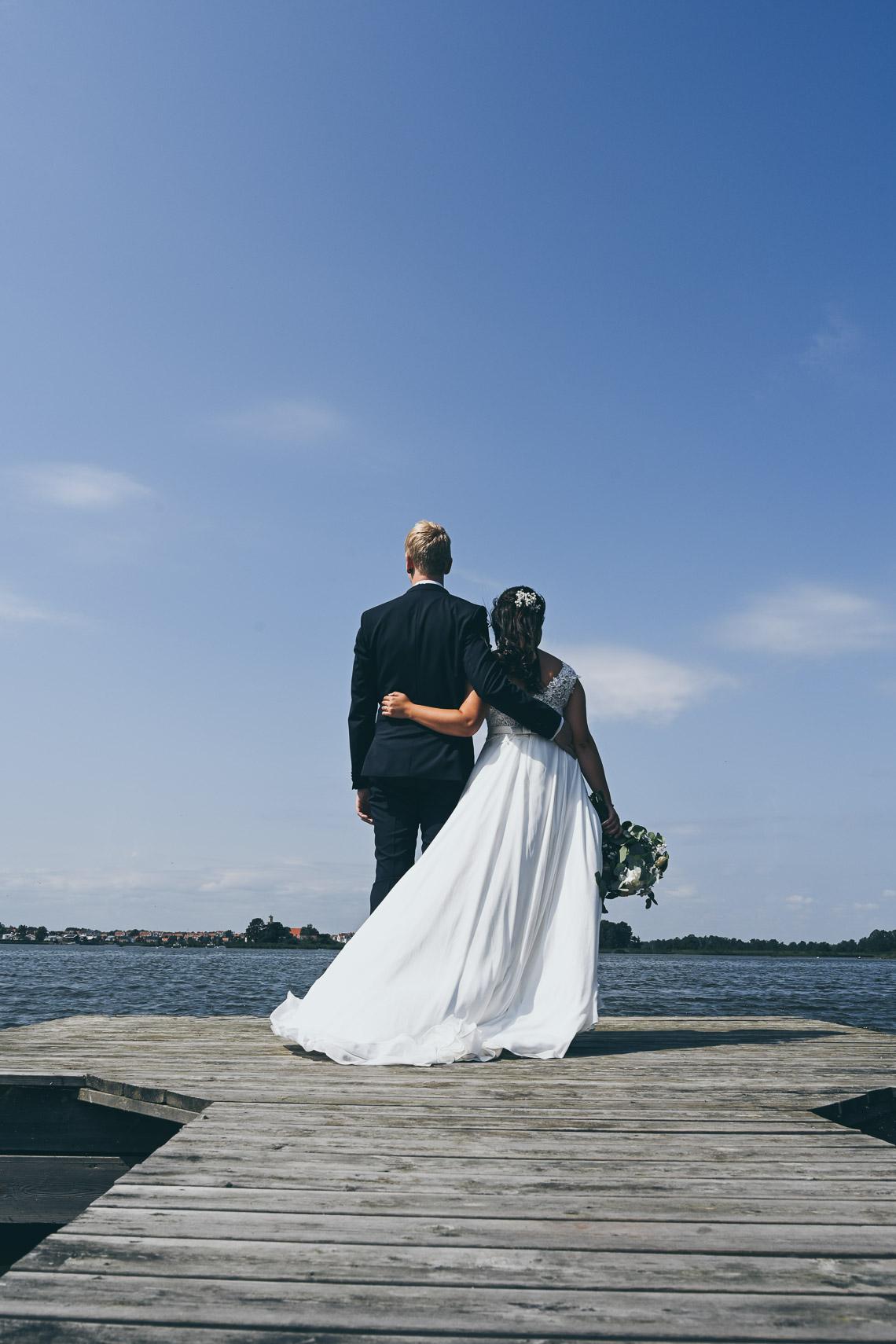 Bröllopsporträtt i Mönsterås