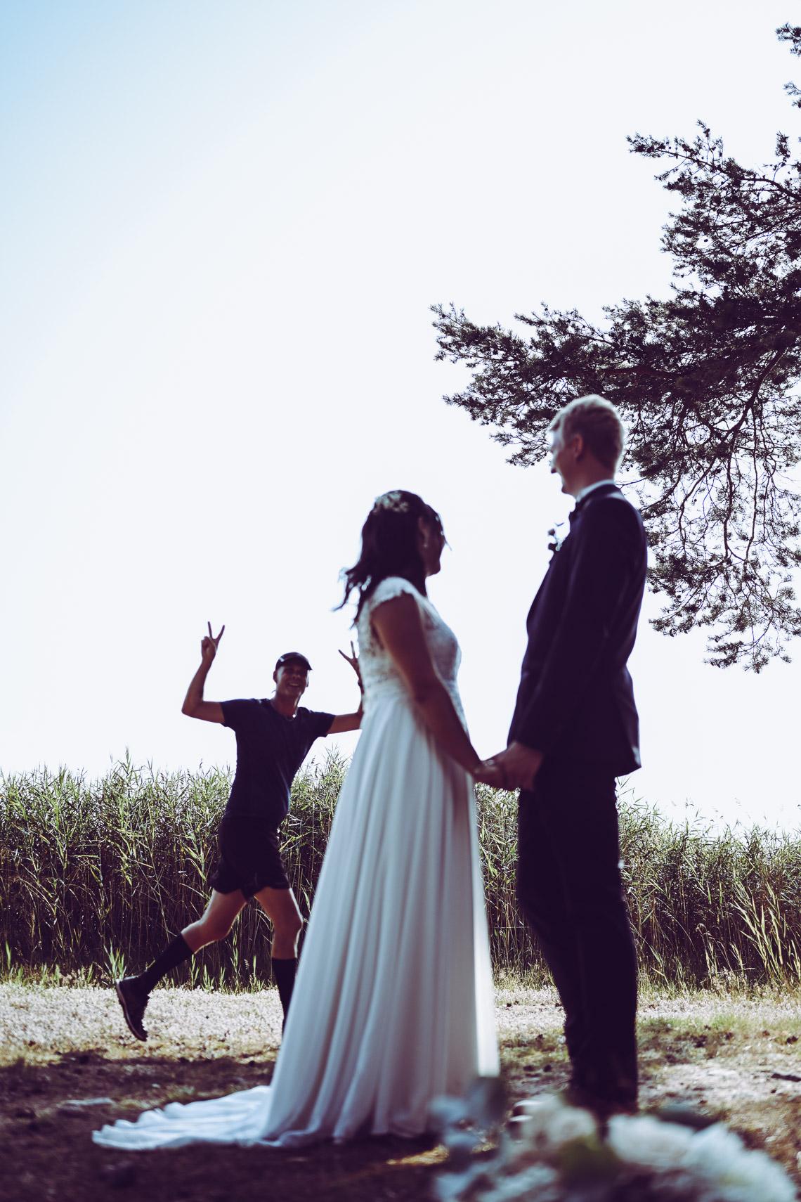 bakom kulisserna roliga bröllopsbilder