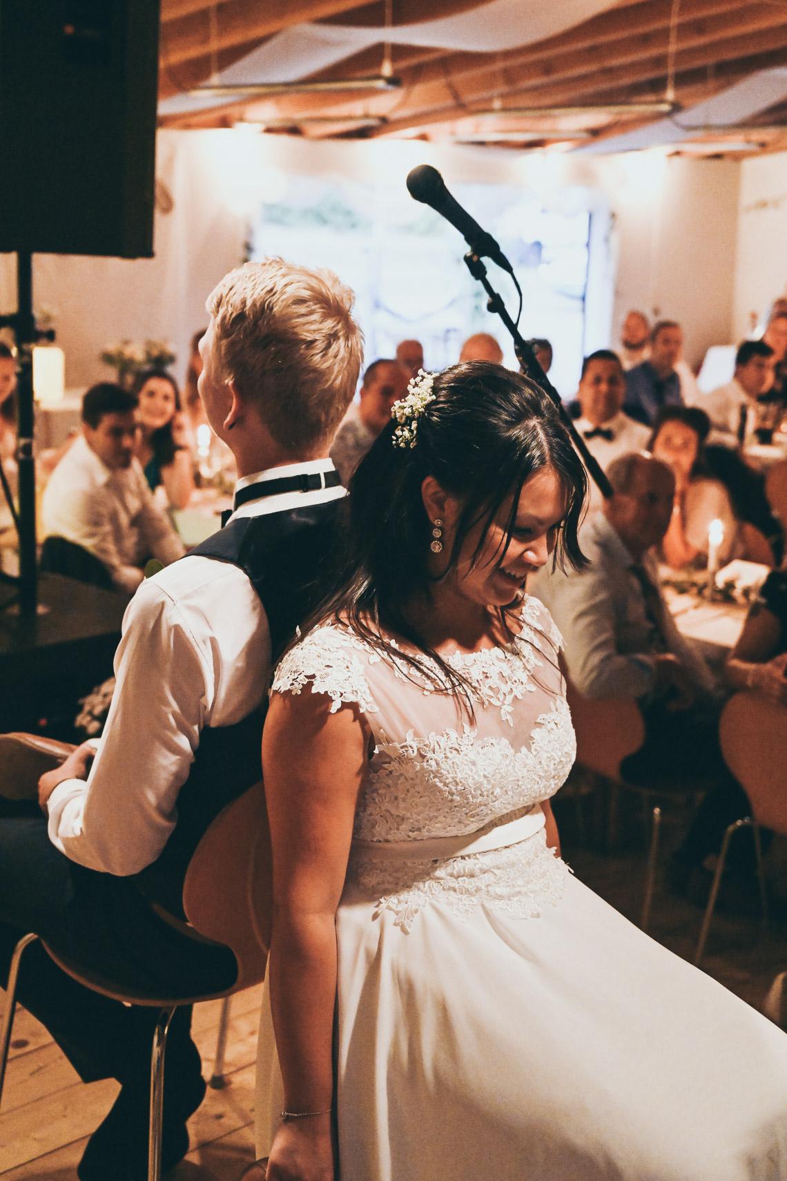 frågelek spex på bröllop