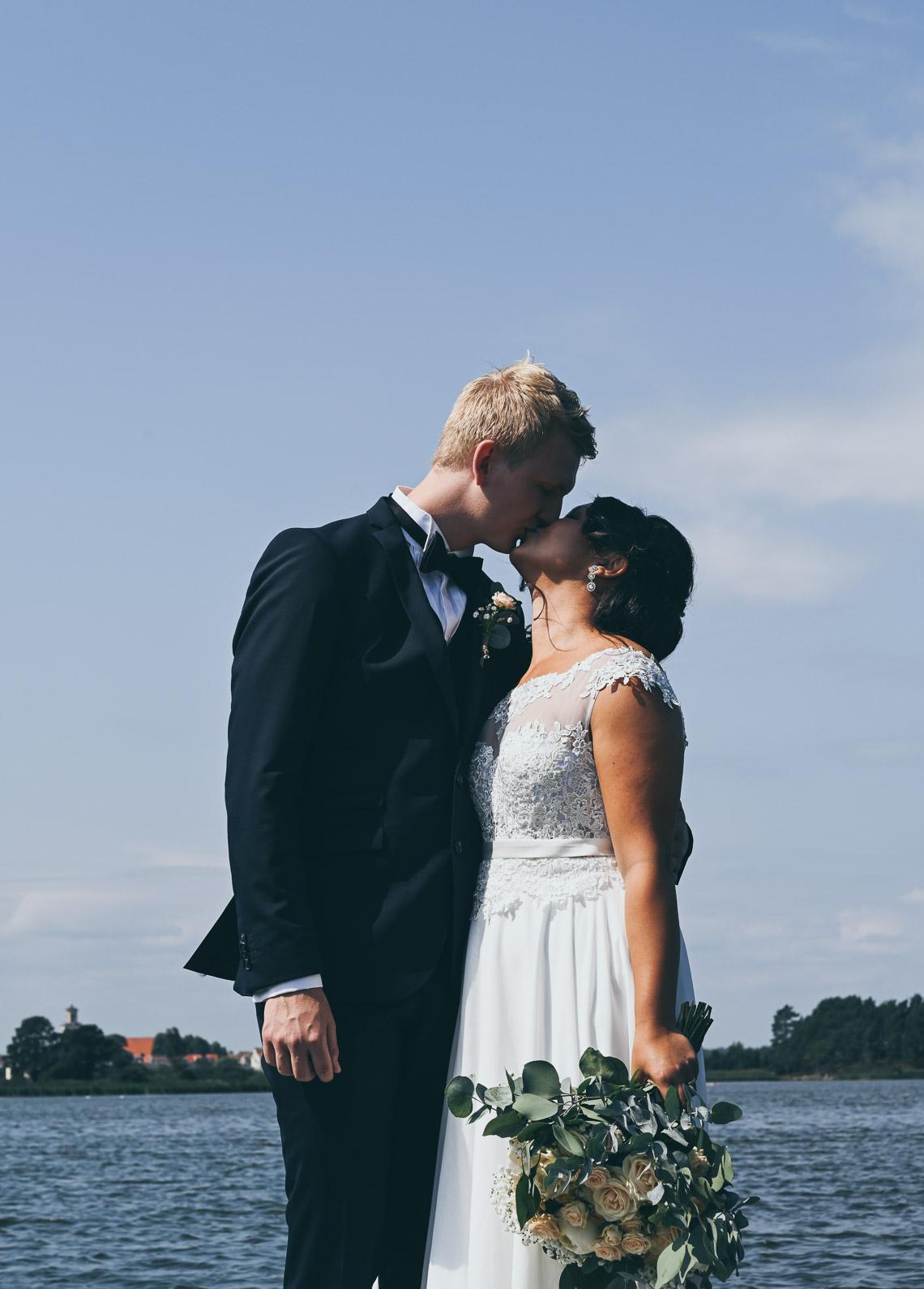 bröllopsporträtt Mönsterås