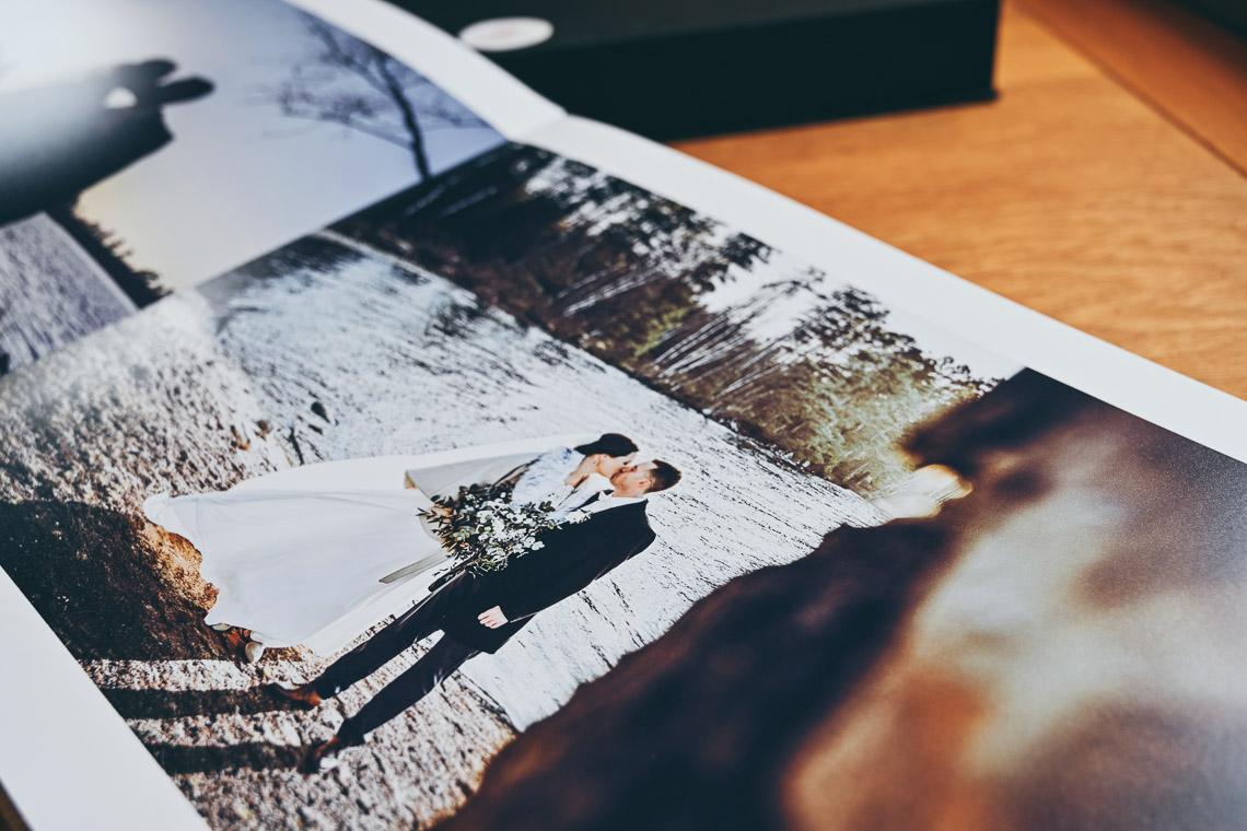 En stor och lyxig fotobok